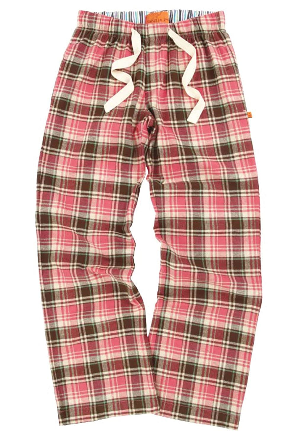 Mini Vanilla Woven Pink Check Lounge Pants Shelby