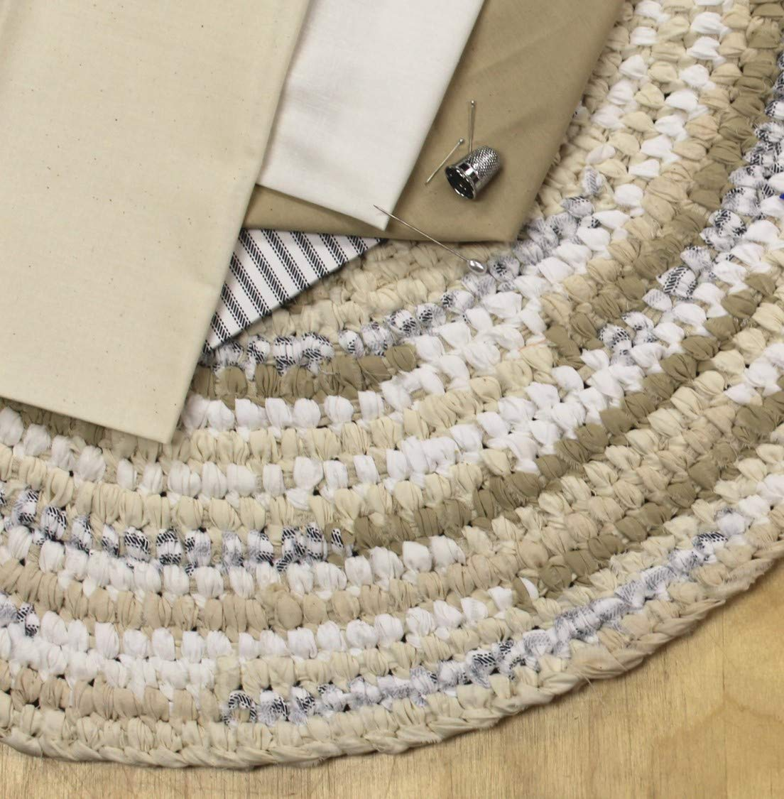 Rockland 200 Count Ava-Lon Supreme Muslin, 108-Inch, Bleached/White (71866) by Roc-lon (Image #5)
