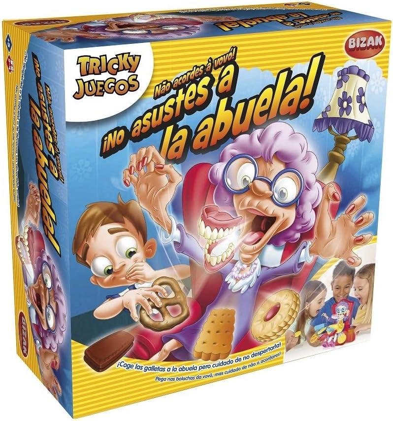 Juegos Bizak No Asustes a la Abuela (BIZAK 30692465): Amazon.es: Juguetes y juegos