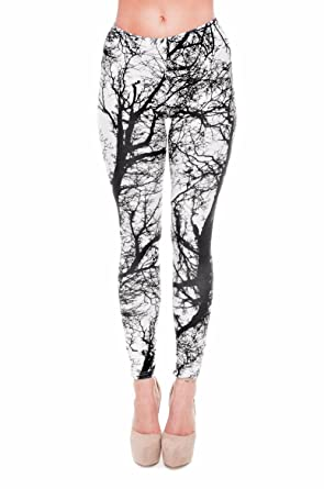 af16800fdc kukubird Printed Patterns Women's Yoga Leggings Gym Fitness Running Pilates  Tights Skinny Pants 8 to 12