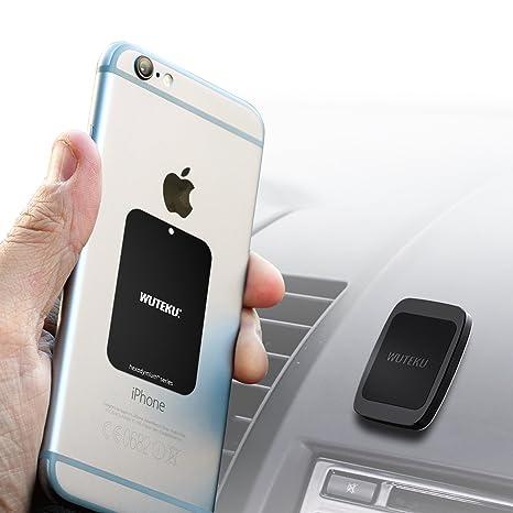 Wuteku teléfono celular magnética de soporte del kit para el coche | Funciona en todos los ...