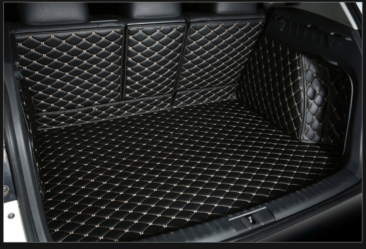 Black w// Black Stitching WillMaxMat Custom Fit Pet/&Dog Trunk Cargo Liner Floor Mat for Mercedes G Class G350 G500 G55 G63