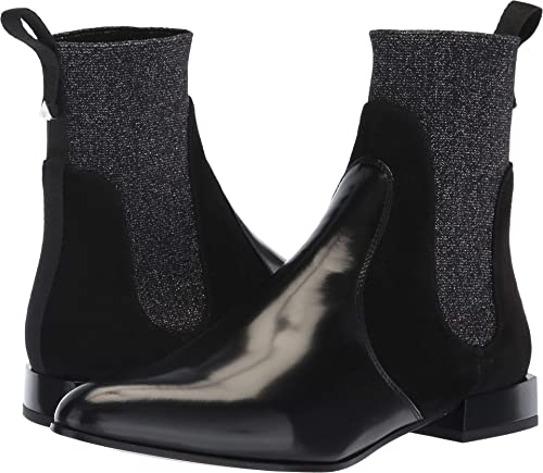 87c87c6c Amazon.com | Emporio Armani Women's Sock Boot Black Euro 37 (US ...
