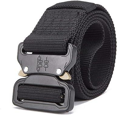 Mens Tactical Belt Military Nylon Belt Outdoor Training Belt Strap