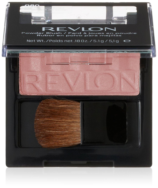 Revlon Powder Blush, Tender Plum 18, 0.18 Ounce (Pack of 2)