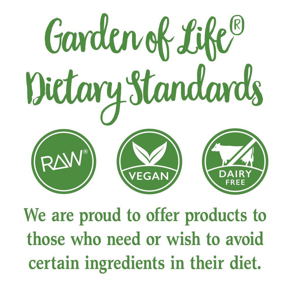 Garden of Life Vegan Green Superfood Powder - Raw Organic Perfect Whole Food Dietary Supplement, Original, 7.4oz (209g) Powder by Garden of Life (Image #9)