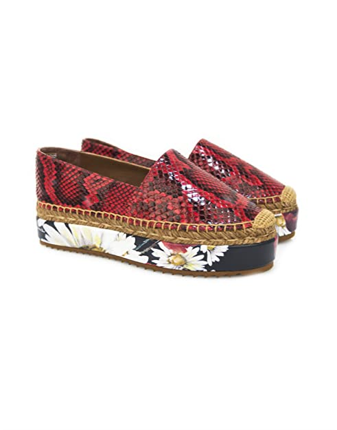 outlet store e952e aba27 Dolce & Gabbana Scarpa Espadrillas Donna EU 40: Amazon.it ...