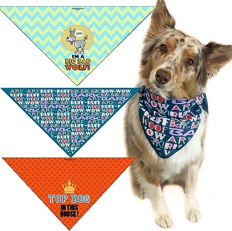 Sassy-Tie On Dog Bandana  Pet Bandana  Dog Scarf  Pet Scarf  Pet Apparel
