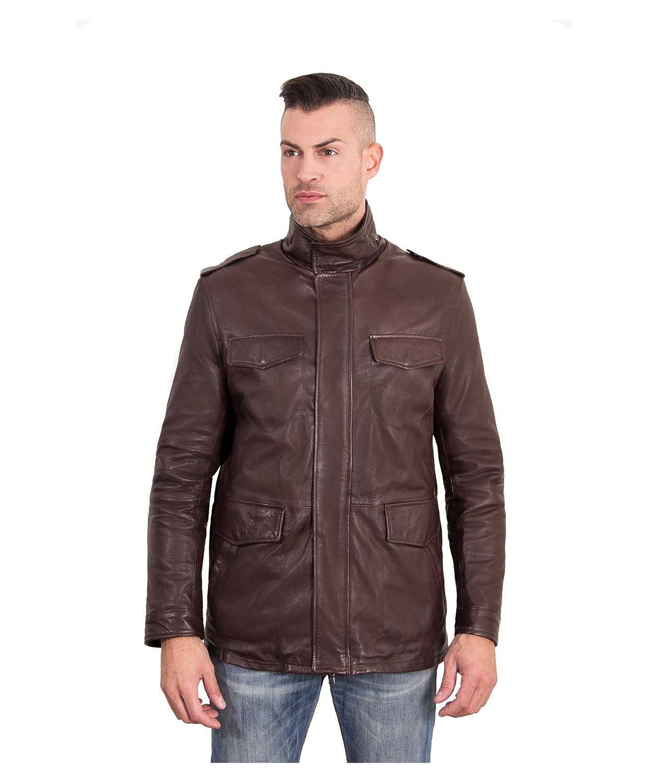 D'Arienzo Men's Blouse Jacket Long sleeve Jacket