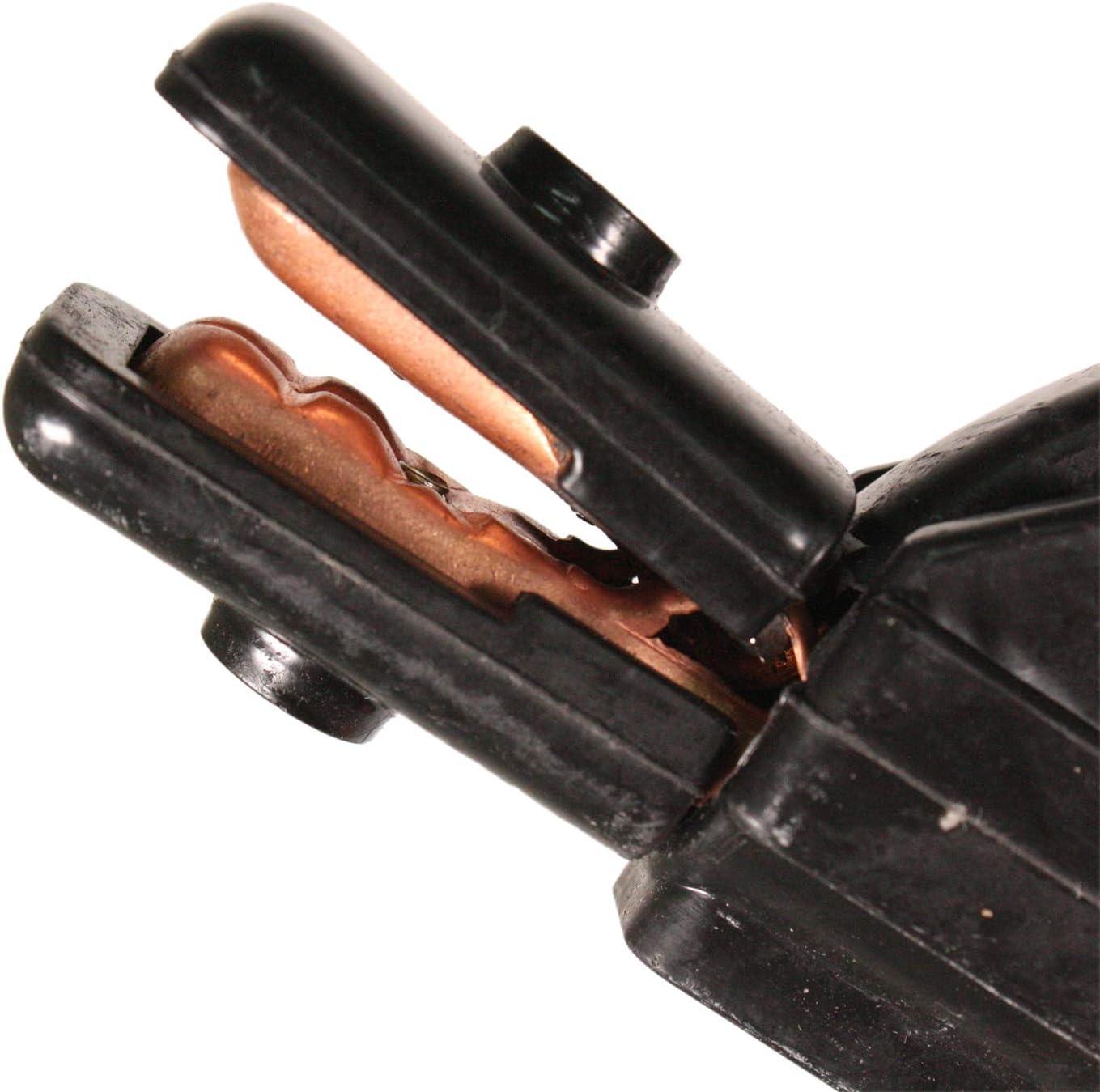 WELDINGER Schwei/ßkabel 4 m 25 mm/² Dorn 9 mm mit Elektrodenhalter bis 200A