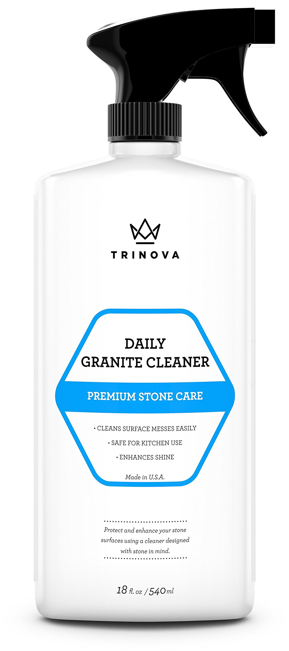 Granite Cleaner And Polish For Daily Use - Enhances Shine And Goes On Streakl.. 8
