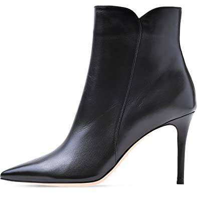266263a3b56d58 elashe Women Ankle Boots Mid Heel