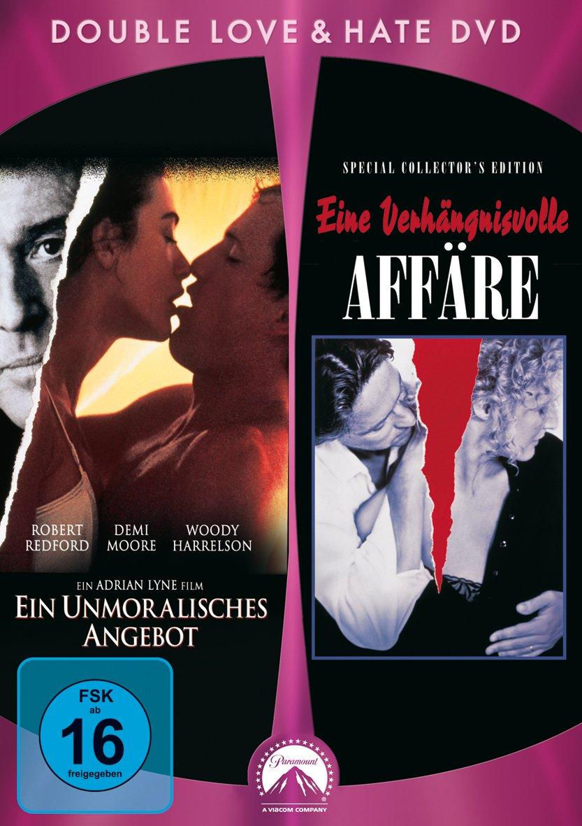 Eine Verhängnisvolle Affäre Ein Unmoralisches Angebot 2 Dvds