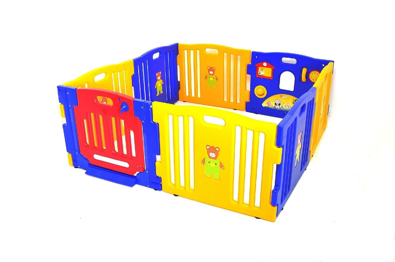 prosource baby kids playpen 8 panel play center safety yard pen amazonin baby