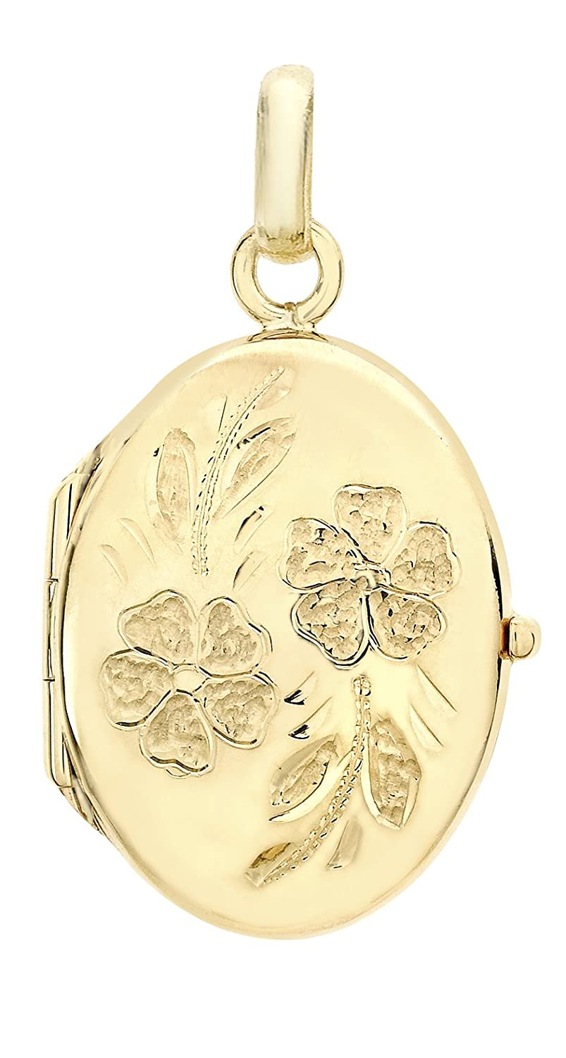 lockets personalised yellow gold leaf locket nouveau white art design