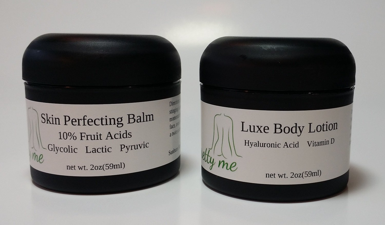 10% Glycolic Fruit Acids & Hyaluronic Acid Body Skin Perfecting System 2oz/2oz