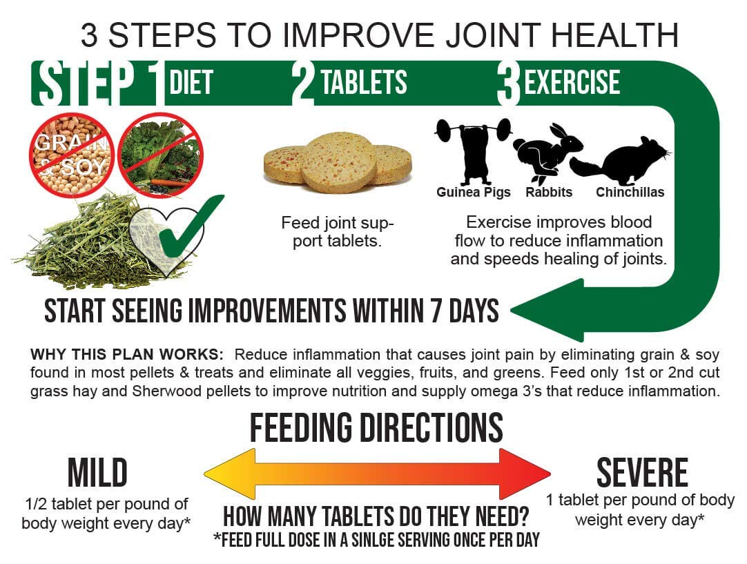 Sherwood Pet Health Vegan Joint Support (100 Tablets - 50 Grams) by Sherwood Pet Health (Image #4)