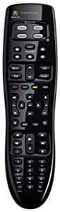 Logitech Harmony 350 – Simple-to-Set-up Universal Media Remote for 8 Devices