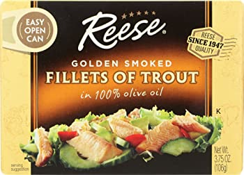 Reese Golden Smoked Oysters