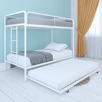 Buy Dhp Triple Metal Bunk Bed Frame White Twin Online In Turkey B07gqjlhj9