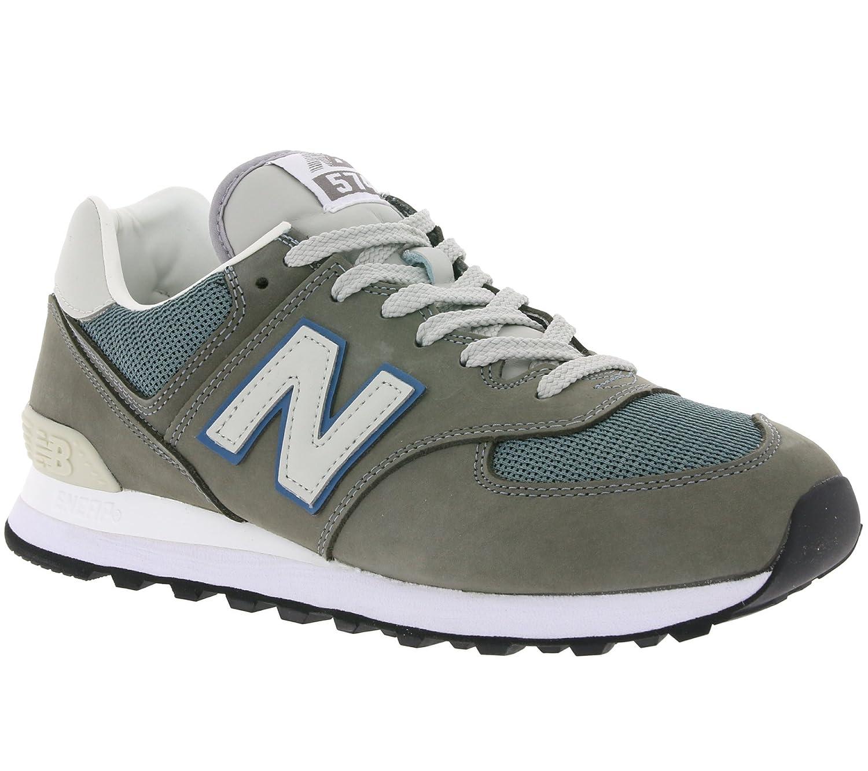 New Balance Herren ML574Y Yatch Pack Sneaker,  41.5 EU|Grey (Ml574gyc)