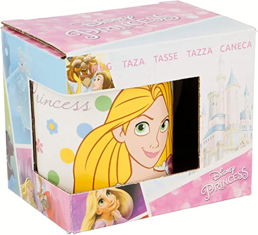 TAZA KIDS CERAMICA 200 ML CON CAJA | PRINCESAS DISNEY FLOWERS ...