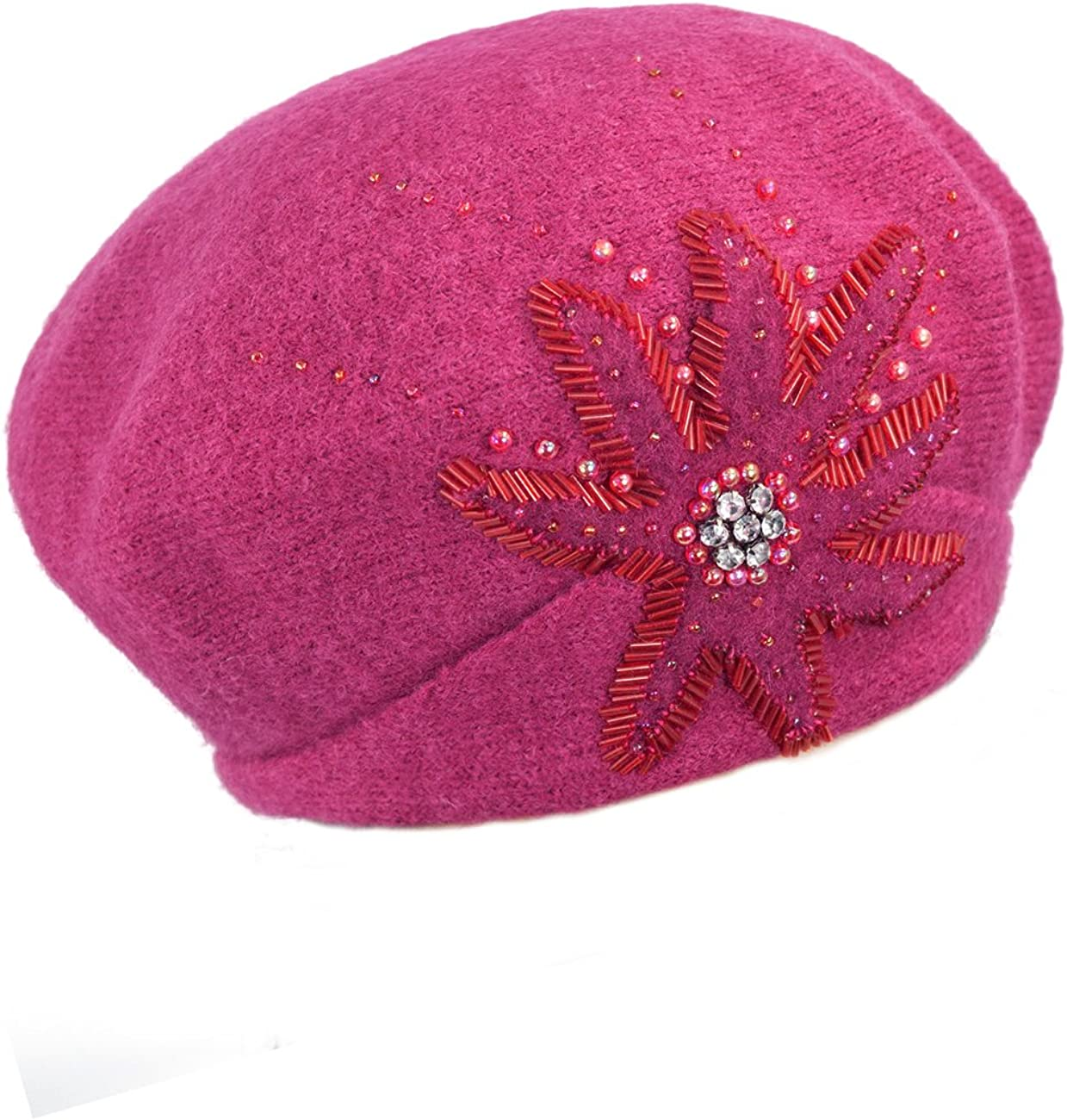 Dahlia Women's Wool Beret...