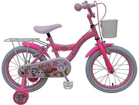 Lol Surprise Bici Bicicletta Bambina 16 Pollici Freni Al Manubrio