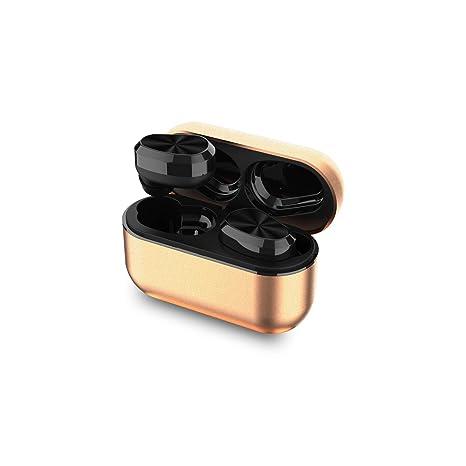 06984f8be69 XIAOWU Wireless Earbuds, True Wireless Bluetooth Headphones 3D Stereo Sound  Mini Sweatproof Sport Headsets in