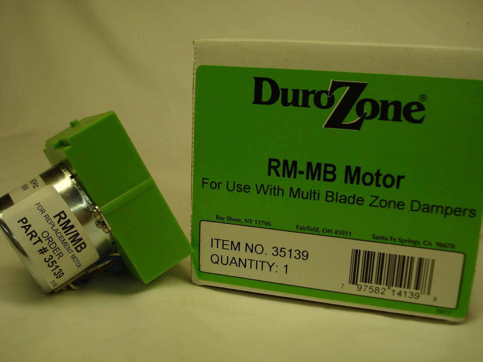 DuroZone RM-MB Replacement Damper Motor # 35139 by Duro Zone (Image #1)