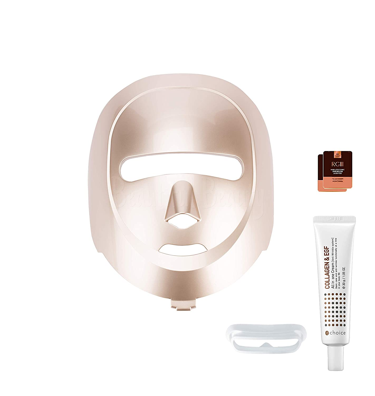 [WIBE] ECO FACE Near-infrared LED Mask for Home Facial LED Therapy | infrared lights for Anti-aging Wrinkle Smooth Skin Texture | Korean Skincare Device | with Collagen & EGF Cream/Eye shield/gift