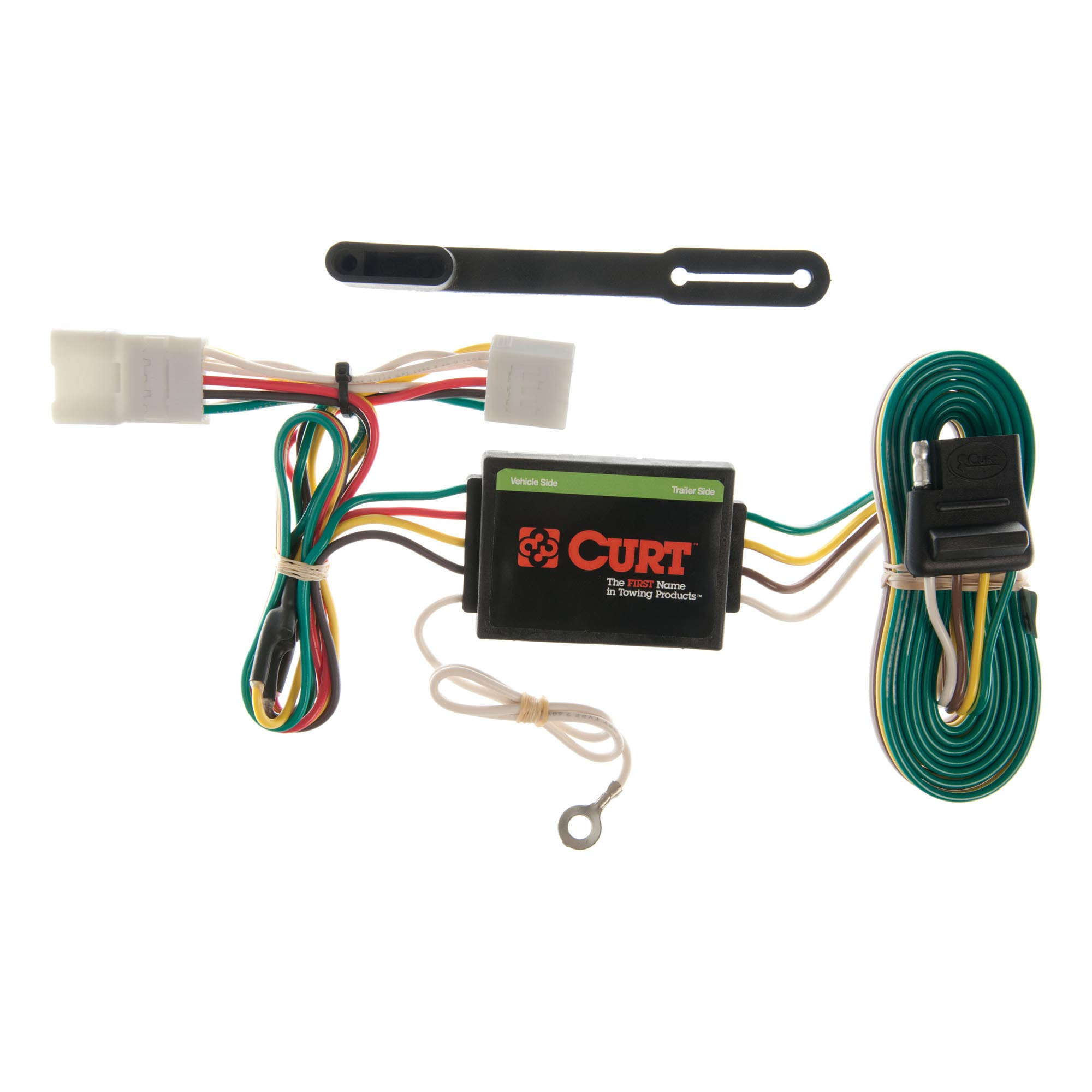 CURT 55354 Vehicle-Side Custom 4-Pin Trailer Wiring Harness, Select Jeep Cherokee, Including Sport