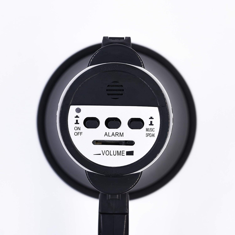 Strap Powerful and Lightweight BEMLDY Portable Megaphone Bullhorn 30 watt Power with Built-in Siren//Alarm-Music-Adjustable Volume