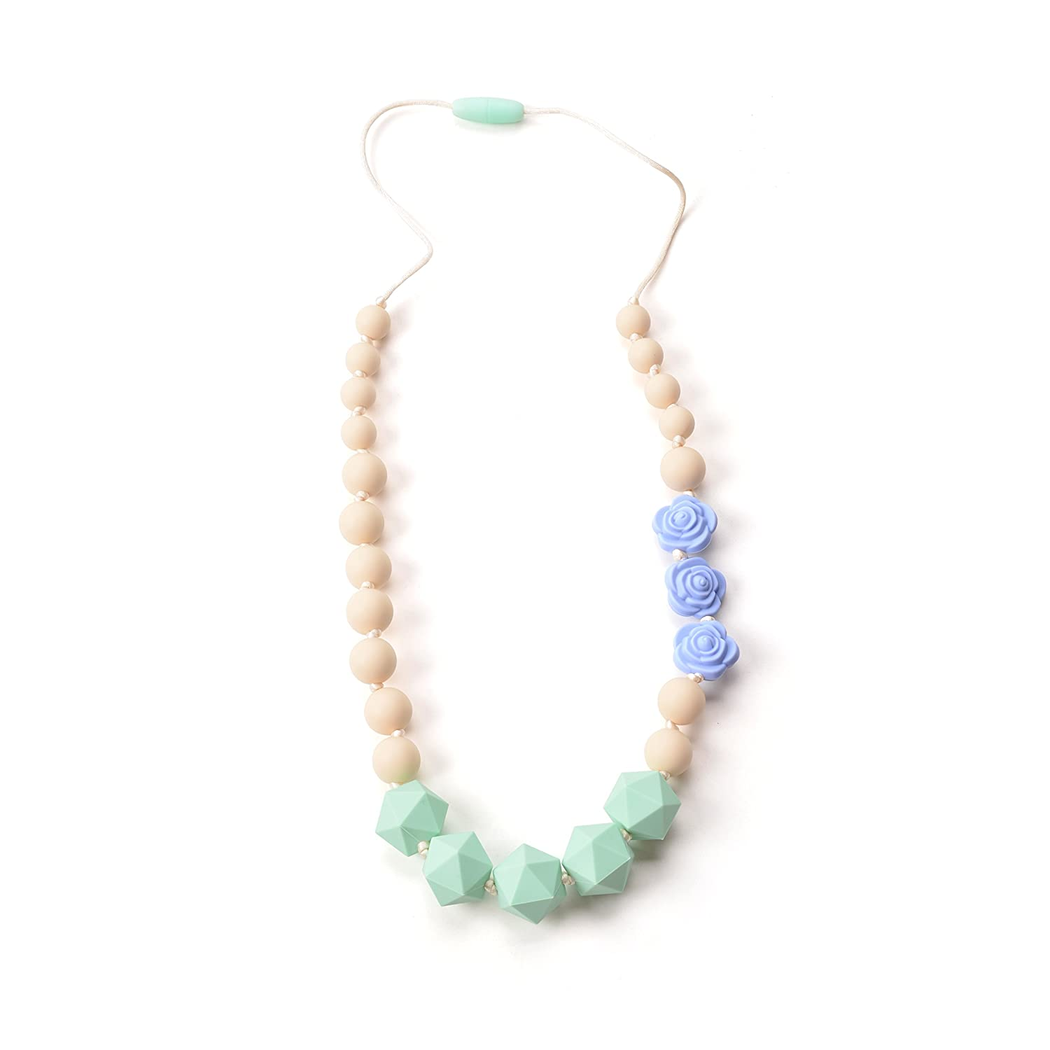 Silicone Teething Beads The Original Baby Teething Necklace for Mom 100/% BPA