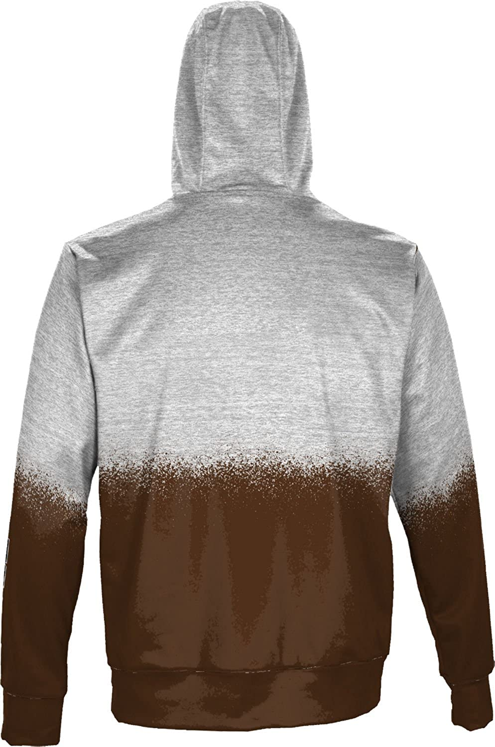 ProSphere Brown University Mens Fullzip Hoodie Spray Over