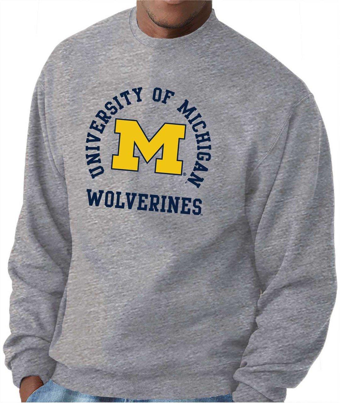 Multiple Teams Campus Colors Adult NCAA Team Spirit Crewneck Sweatshirt
