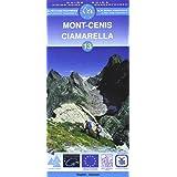 Carte de randonnée : Mont-Cenis, N° 13 (bilingue anglais-allemand)