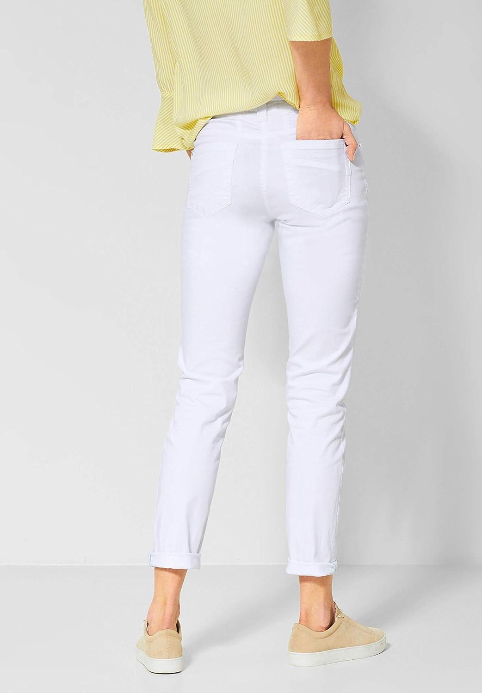 Cecil Pantalon Femme Blanc