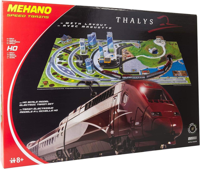 Coffret De Rails N°4 Mehano F104 Modelisme Ferroviaire