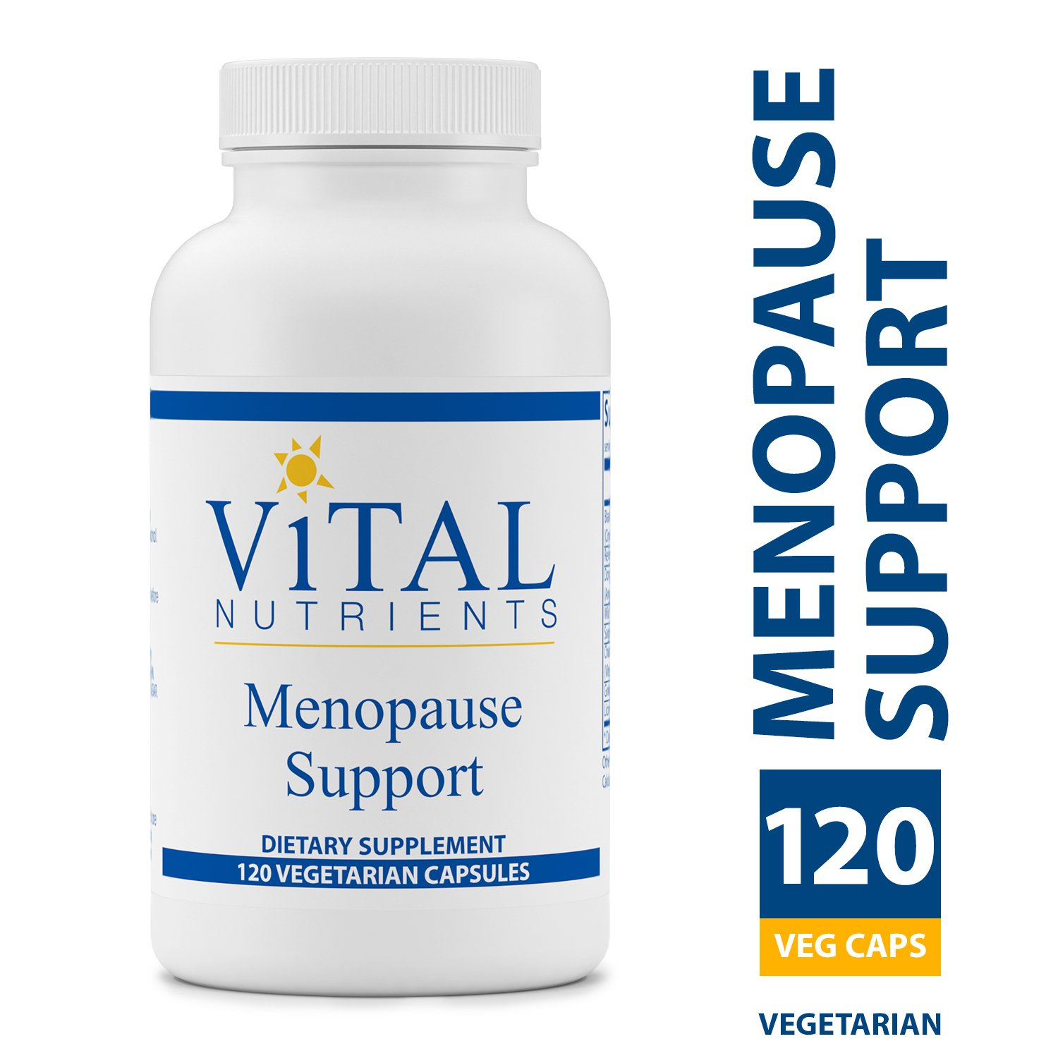 Vital Nutrients - Menopause Support - Herbal Combination Formulated for Support and to help Alleviate Symptoms During Menopause - 120 Capsules per Bottle