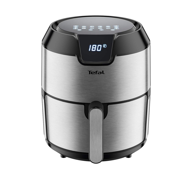 Tefal ey401d Easy Fry Deluxe friggitrice ad aria calda, 1400, 1.2 kilograms, Acciaio Inox/Nero 1.2kilograms