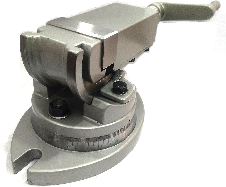 Apertura Ganasce 65 mm Morsa da Banco o Tavolo Uso come Segatura Ganasce 50x25 mm per Morsa Parallela da Banco Limatura e Scalpellatura VEVOR Macchine Utensili Fresatrici Vice ad Alta Precisione