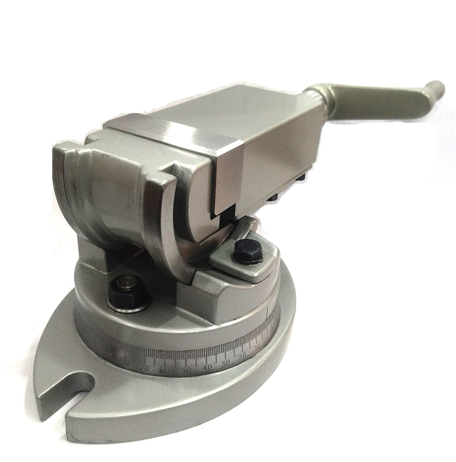 "Precision Milling Vise Swivel Base /& Angle Tilting 2 way-Jaw 3/"" Inches 75 mm"