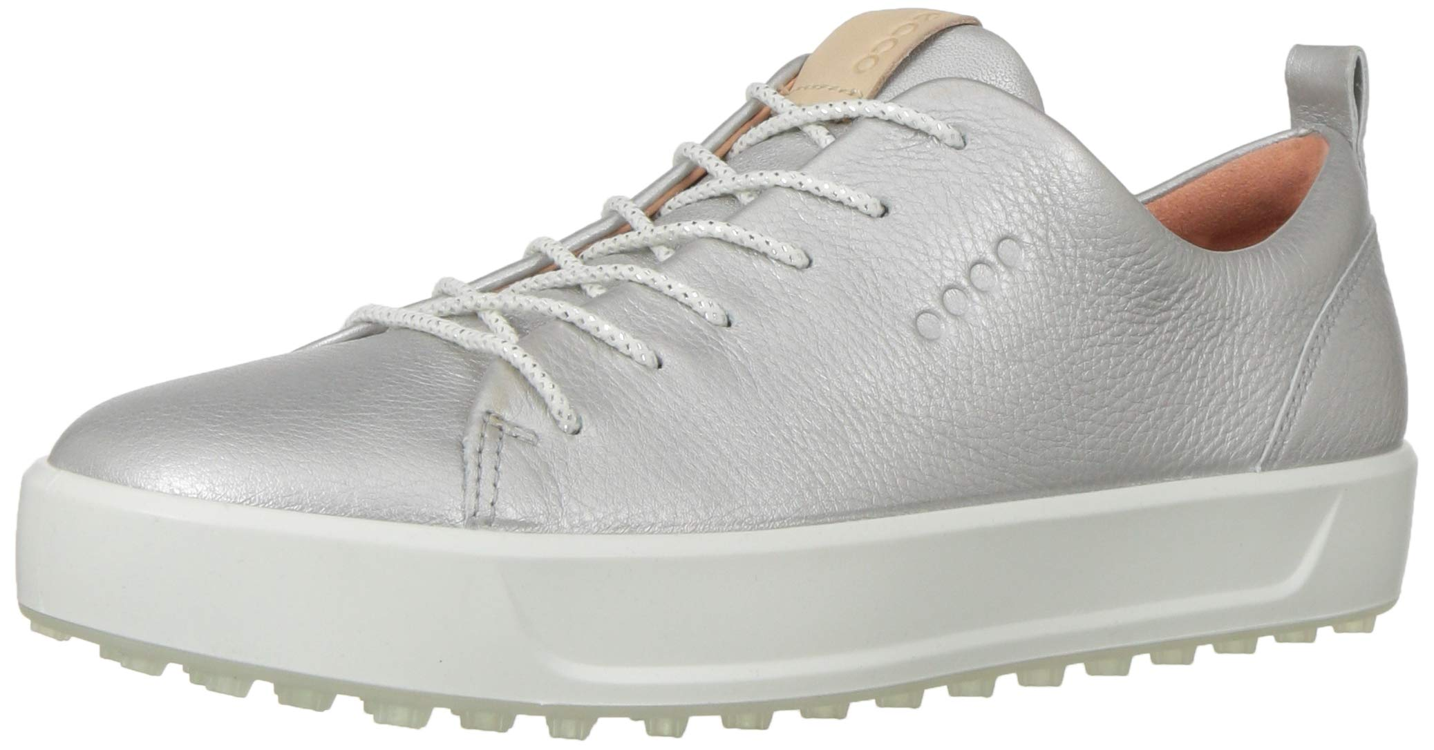 ECCO Women's Soft Low Hydromax Golf Shoe, alusilver Metallic, 36 M EU (5-5.5 US)