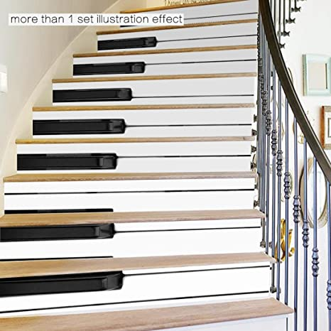vibola DIY cascada adhesivo extraíble onestopdiy – Adhesivo Decoración del hogar de cerámica azulejos patrones para escaleras: Amazon.es: Juguetes y juegos
