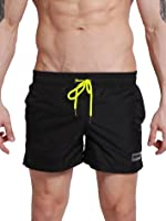 Neleus Men's Dry Fit Performance Short With Pockets