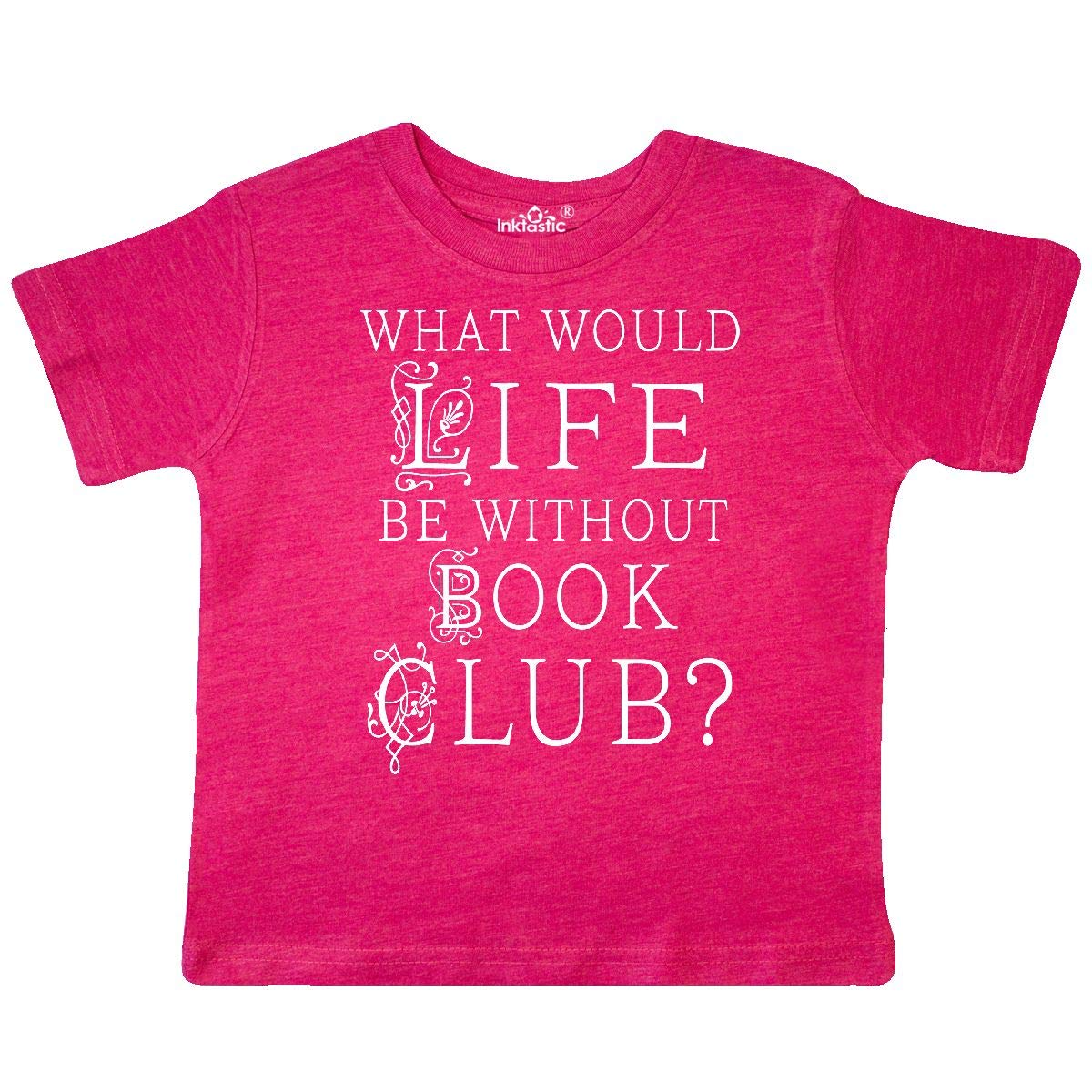 inktastic Funny Book Club Gift Toddler T-Shirt