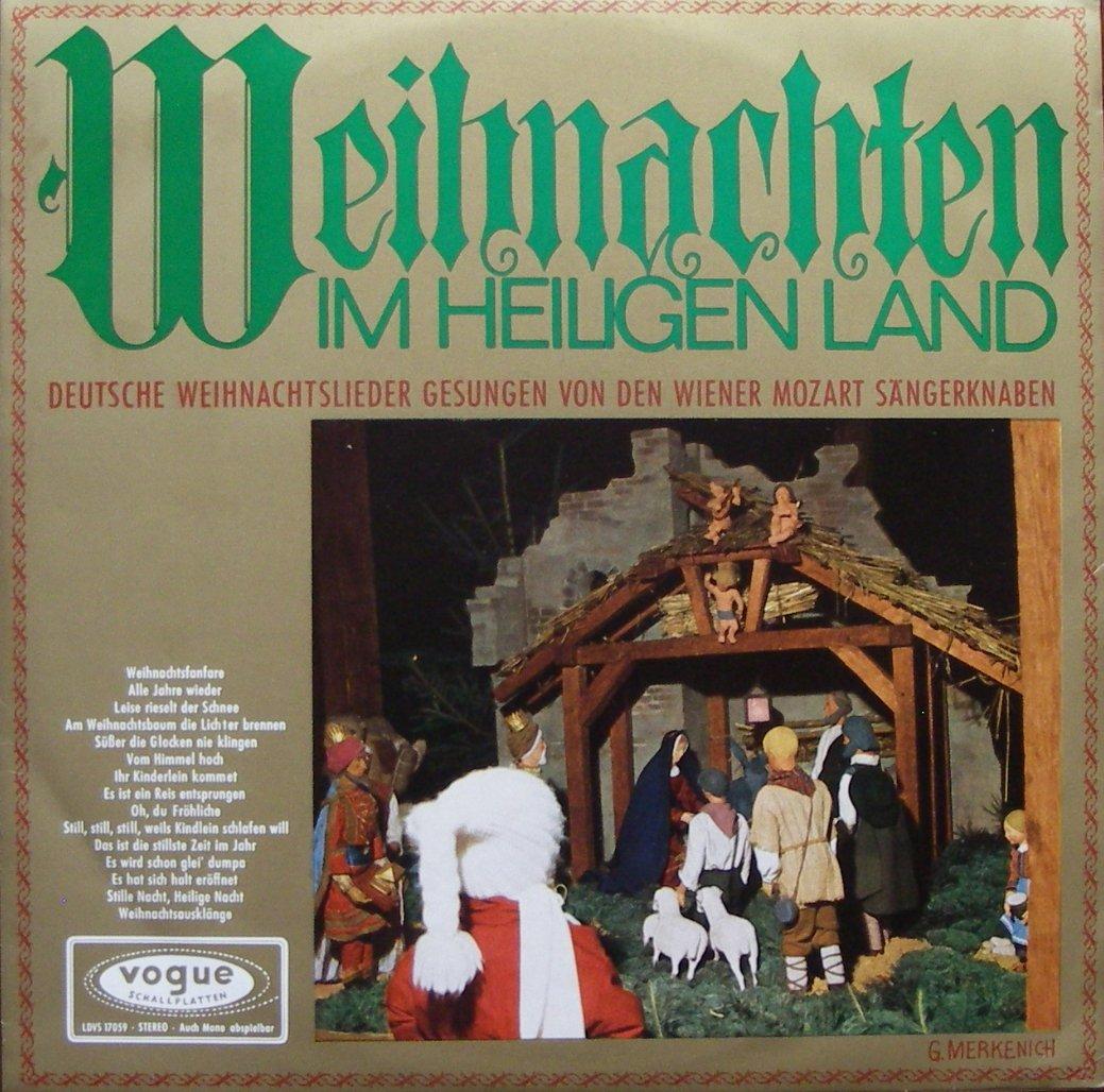 Weihnachten IM HEILIGEN LAND DEUTSCHE WEIHNACHTSLIEDER GESUNGEN VON ...