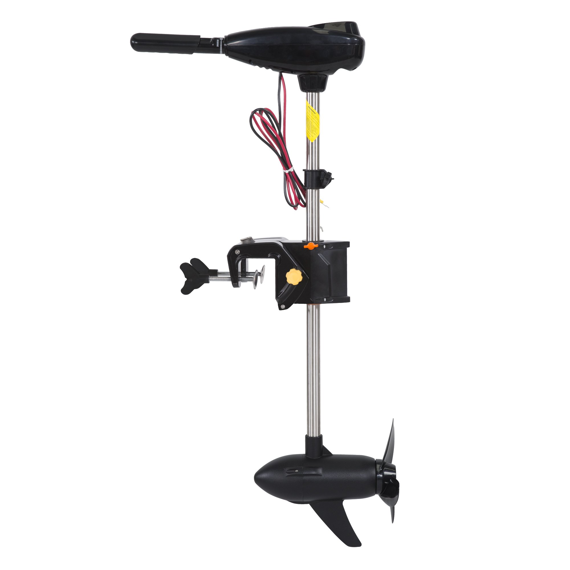 Cloud Mountain Brushless Electric Trolling Motor with Stepless Speed Control 200LBS 24V by Cloud Mountain