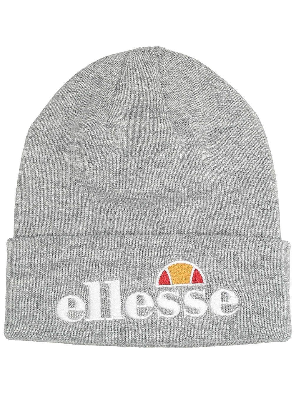 27e5128aa ELLESSE BEANIE VELLY BLACK FINE KNIT LOGO HAT